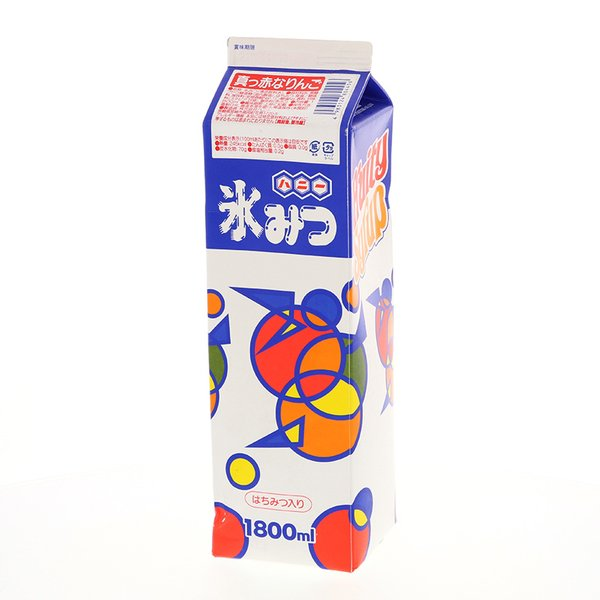ハニー 氷みつ Aタイプ 真っ赤なりんご 1.8L※軽【返品不可】