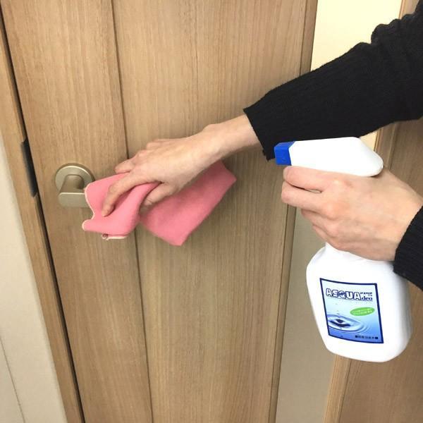 除菌消臭 次亜塩素酸水 アスクア デオ スプレーボトル&手指洗浄用ポンプ式セット 各200ppm(500ml)|propre-racli|02