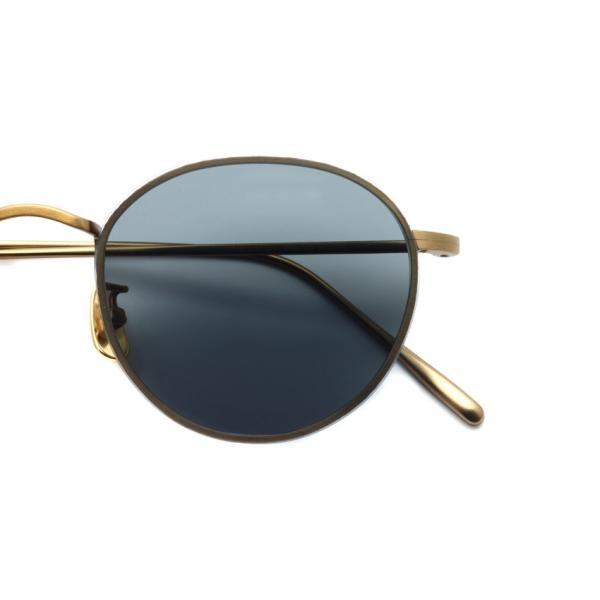 A.D.S.R. BUKEM 01(a) ブケム Antique Gold - Black Lenses アンティークゴールド-ブラックレンズ(ダークグレー) ラウンドメタル ボストン サングラス|props-tokyo|03