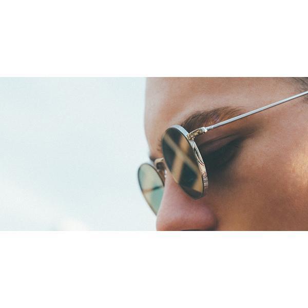 A.D.S.R. BUKEM02(a) ブケム Gold - Black Lenses ゴールド-ブラックレンズ(ダークグレー) ラウンドメタル ボストン サングラス|props-tokyo|10