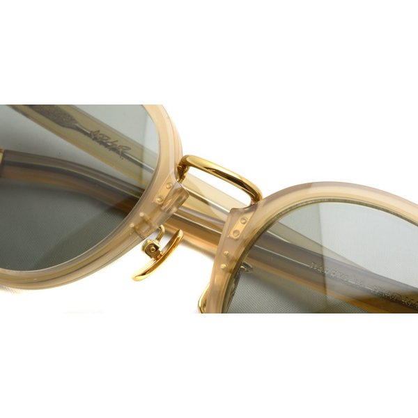 A.D.S.R. DARRYL12 PALE BROWN / GOLD クリアブラウン/ゴールド サングラス|props-tokyo|03