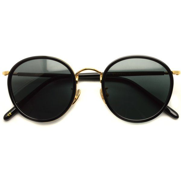 A.D.S.R. EVANS 01 エヴァンス BLACK/GOLD ブラック/ゴールド ラウンド ボストン サングラス 【送料無料】|props-tokyo|02