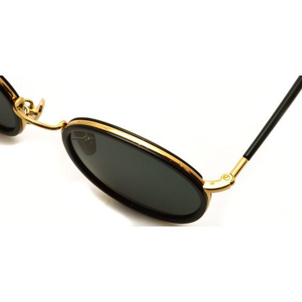 A.D.S.R. EVANS 01 エヴァンス BLACK/GOLD ブラック/ゴールド ラウンド ボストン サングラス 【送料無料】|props-tokyo|04