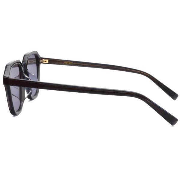 A.D.S.R. FABIO01 ファビオ Clear Black クリアブラック-フラットダークグレーレンズ サングラス|props-tokyo|04