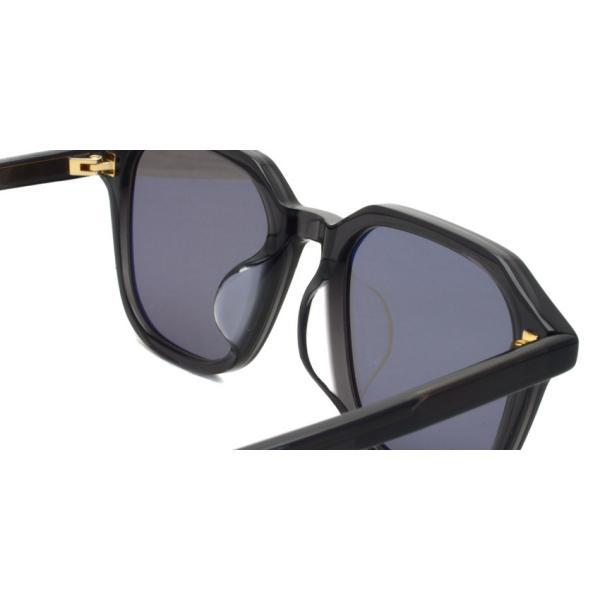 A.D.S.R. FABIO01 ファビオ Clear Black クリアブラック-フラットダークグレーレンズ サングラス|props-tokyo|06