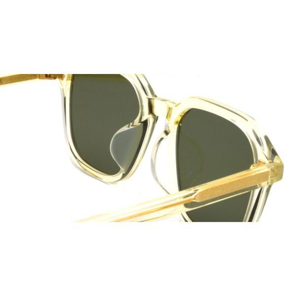 A.D.S.R. FABIO05 ファビオ Clear Yellow クリアイエロー-フラットダークグリーンレンズ サングラス|props-tokyo|05