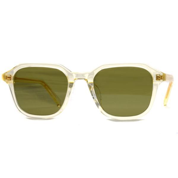 A.D.S.R. FABIO05 ファビオ Clear Yellow クリアイエロー-フラットダークグリーンレンズ サングラス|props-tokyo|06