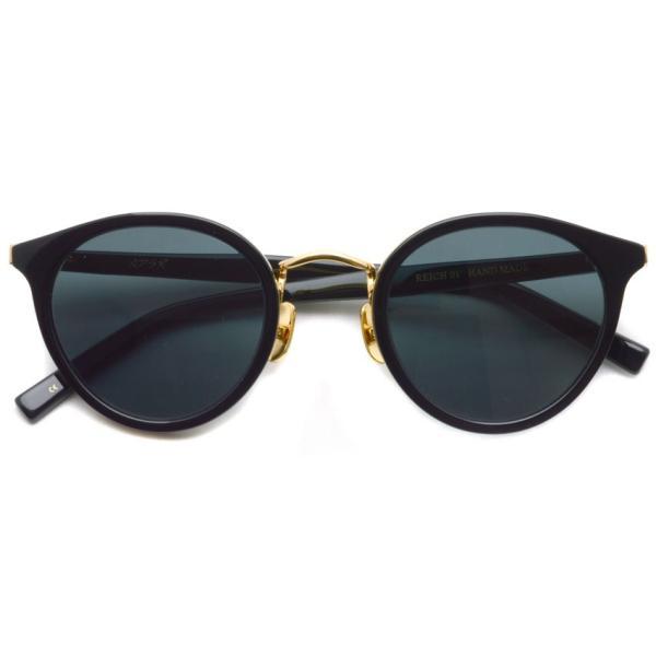 A.D.S.R. REICH ライヒ 01 Shiny Black / Gold シャイニーブラック/ゴールド サングラス 【送料無料】|props-tokyo|02