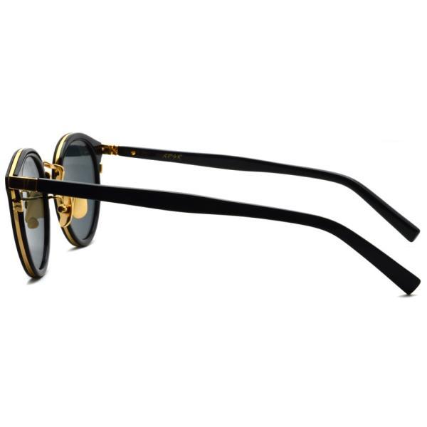 A.D.S.R. REICH ライヒ 01 Shiny Black / Gold シャイニーブラック/ゴールド サングラス 【送料無料】|props-tokyo|03