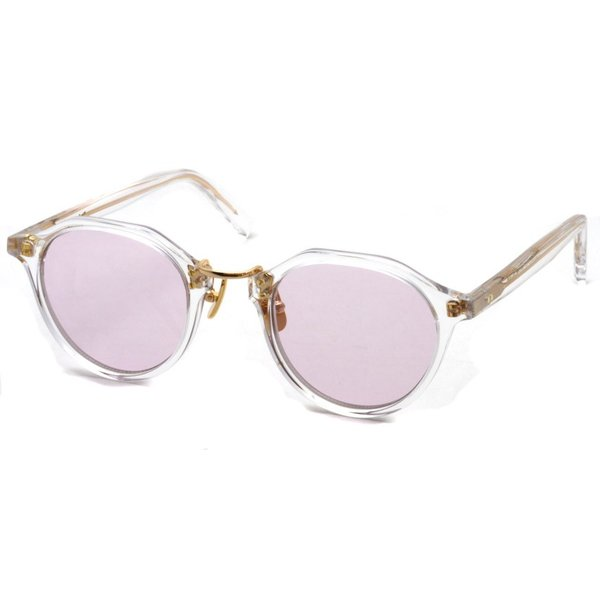 A.D.S.R. SATCHMO 03(b) サッチモ Clear / Gold - Light Pink クリア/ゴールド ライトピンクレンズ サングラス 【送料無料】|props-tokyo