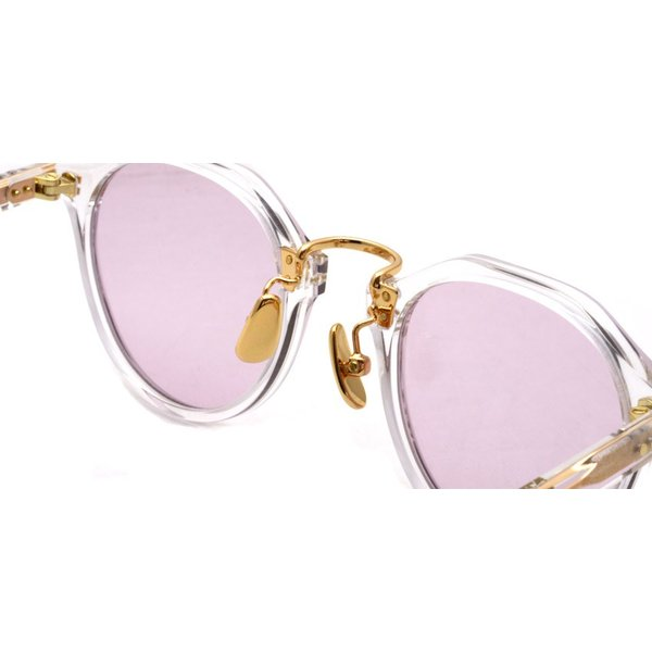 A.D.S.R. SATCHMO 03(b) サッチモ Clear / Gold - Light Pink クリア/ゴールド ライトピンクレンズ サングラス 【送料無料】|props-tokyo|04