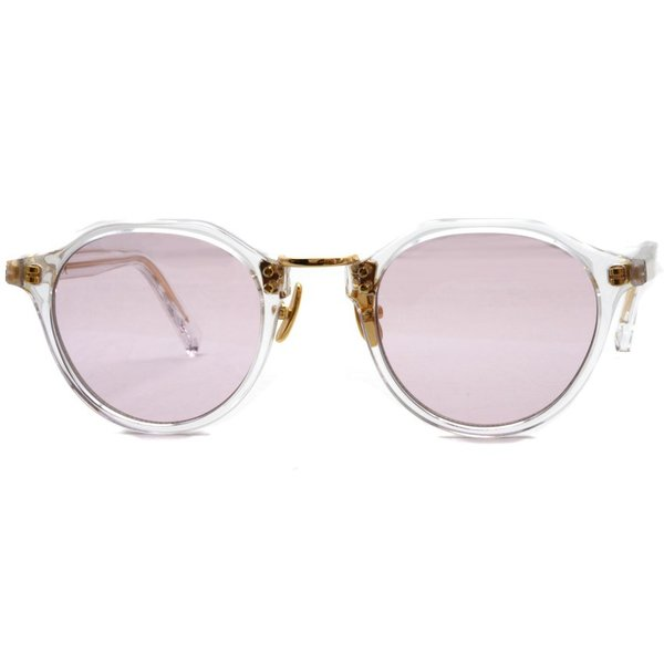 A.D.S.R. SATCHMO 03(b) サッチモ Clear / Gold - Light Pink クリア/ゴールド ライトピンクレンズ サングラス 【送料無料】|props-tokyo|05