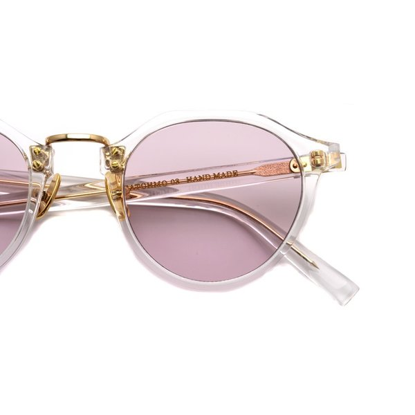 A.D.S.R. SATCHMO 03(b) サッチモ Clear / Gold - Light Pink クリア/ゴールド ライトピンクレンズ サングラス 【送料無料】|props-tokyo|06