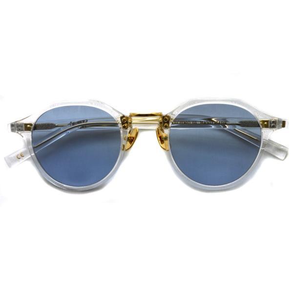 A.D.S.R. SATCHMO 03 サッチモ Clear / Gold - Light Blue クリア/ゴールド ライトブルーレンズ サングラス 【送料無料】|props-tokyo|02