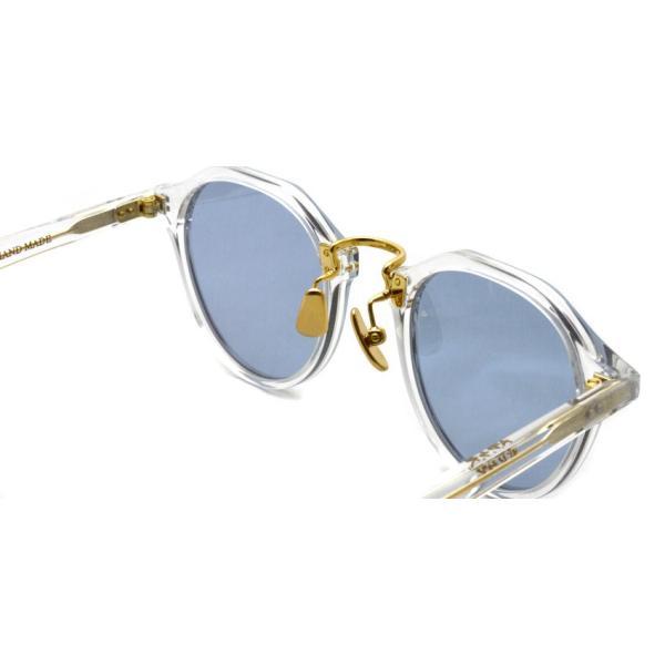 A.D.S.R. SATCHMO 03 サッチモ Clear / Gold - Light Blue クリア/ゴールド ライトブルーレンズ サングラス 【送料無料】|props-tokyo|04
