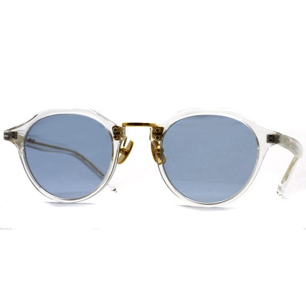 A.D.S.R. SATCHMO 03 サッチモ Clear / Gold - Light Blue クリア/ゴールド ライトブルーレンズ サングラス 【送料無料】|props-tokyo|06