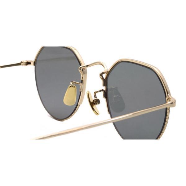 A.D.S.R. TIPSY01[b] ティプシー Gold - Black lenses ゴールド-ブラックレンズ サングラス|props-tokyo|05