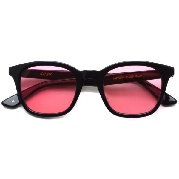 A.D.S.R. ZAPPA ザッパ 01 (b) Shiny Black - Light Red lenses ブラック-ライトレッド サングラス 【送料無料】|props-tokyo|02