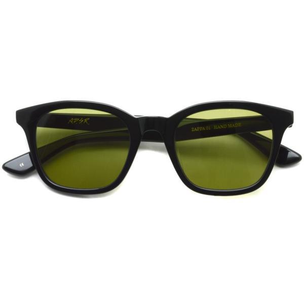 A.D.S.R. ZAPPA ザッパ 01 (a) Shiny Black-Light Green lenses ブラック-ライトグリーン サングラス 【送料無料】|props-tokyo|02