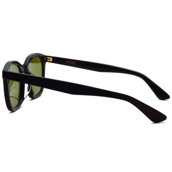 A.D.S.R. ZAPPA ザッパ 01 (a) Shiny Black-Light Green lenses ブラック-ライトグリーン サングラス 【送料無料】|props-tokyo|03