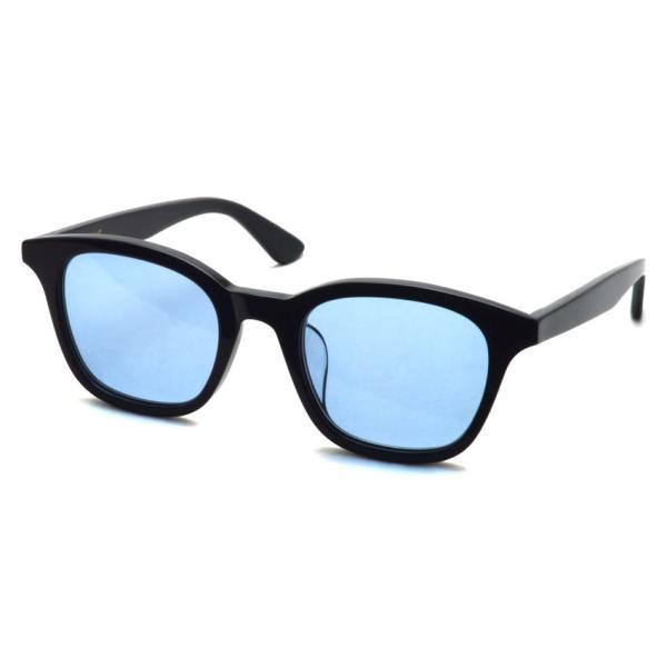 A.D.S.R. ZAPPA ザッパ 01 (c) Shiny Black-Light Blue lenses ブラック-ライトブルーレンズ サングラス 【送料無料】|props-tokyo