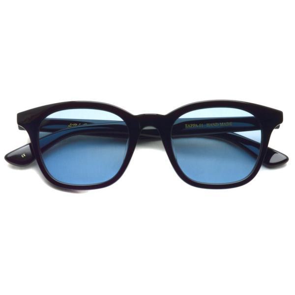 A.D.S.R. ZAPPA ザッパ 01 (c) Shiny Black-Light Blue lenses ブラック-ライトブルーレンズ サングラス 【送料無料】|props-tokyo|02