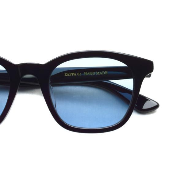 A.D.S.R. ZAPPA ザッパ 01 (c) Shiny Black-Light Blue lenses ブラック-ライトブルーレンズ サングラス 【送料無料】|props-tokyo|03