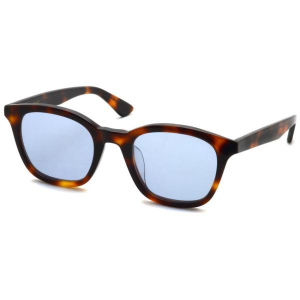 A.D.S.R. ZAPPA ザッパ 02 (b) Havana Brown-Light Blue lenses ハバナブラウン-ライトブルー サングラス 【送料無料】|props-tokyo