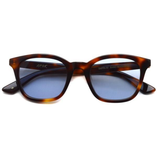 A.D.S.R. ZAPPA ザッパ 02 (b) Havana Brown-Light Blue lenses ハバナブラウン-ライトブルー サングラス 【送料無料】|props-tokyo|02