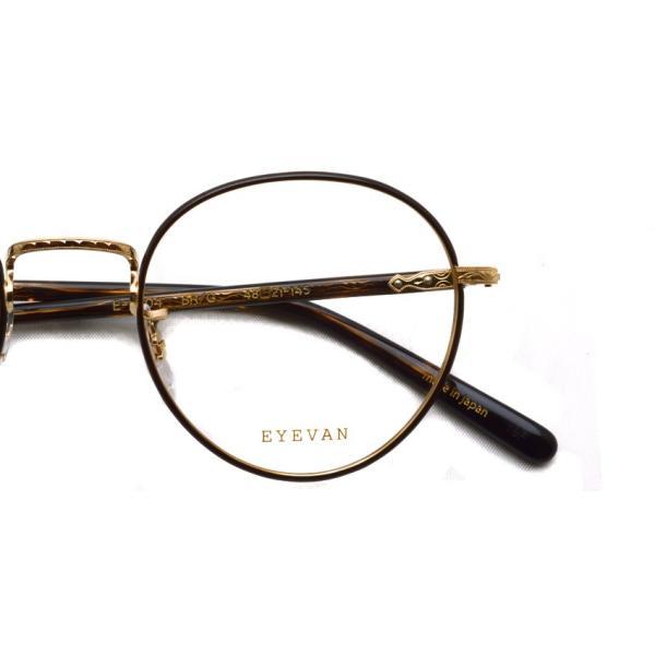 EYEVAN アイヴァン 0504 BRG ブラウン-ゴールド メガネ ラウンドメタルフレーム props-tokyo 05