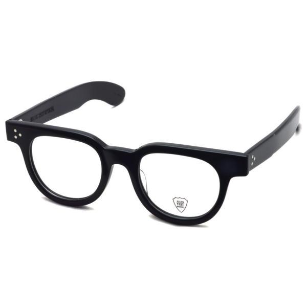 JULIUS TART OPTICAL タート メガネフレーム FDR エフディーアール BLACK ブラック サイズ 48|props-tokyo