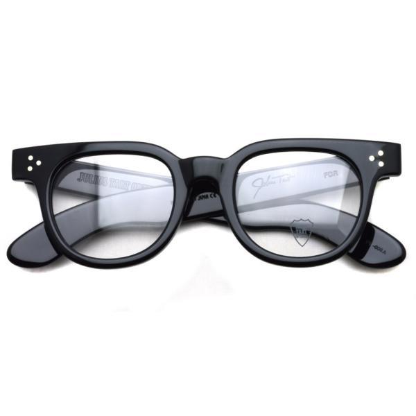 JULIUS TART OPTICAL タート メガネフレーム FDR エフディーアール BLACK ブラック サイズ 48|props-tokyo|02