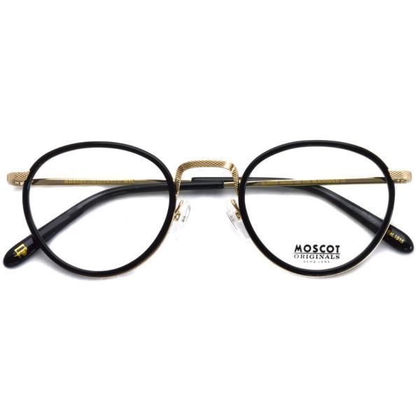 MOSCOT モスコット メガネ フレーム BUPKES BLACK / GOLD  ブラック/ゴールド 【送料無料】|props-tokyo|02