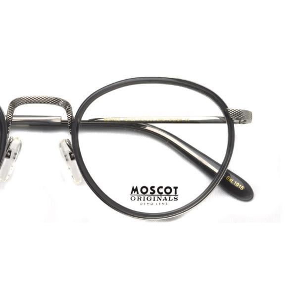MOSCOT モスコット メガネ フレーム BUPKES GREY / SILVER グレー/シルバー 【送料無料】|props-tokyo|03