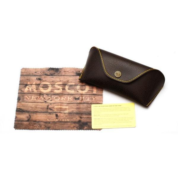MOSCOT モスコット サングラス BUPKES-Sun ブプケスサン Black / Gold-G15 ブラック/ゴールド - ダークグリーン ラウンドメタルサングラス|props-tokyo|09