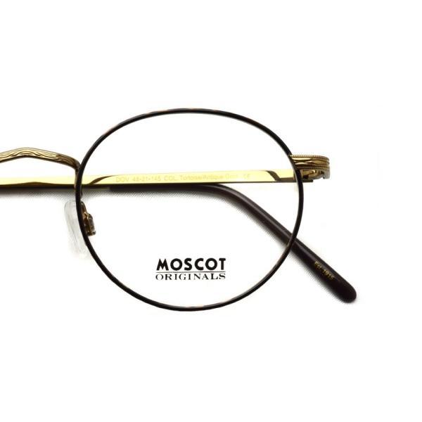 MOSCOT モスコット メガネ フレーム DOV TORTOISE / ANTIQUE GOLD トータス/アンティークゴールド|props-tokyo|04