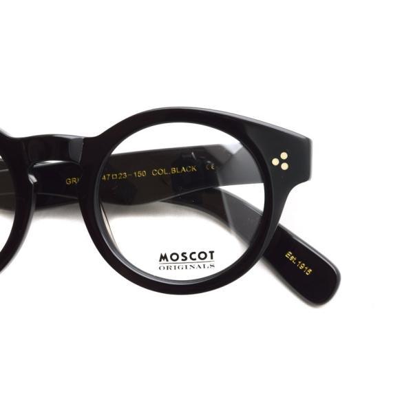 MOSCOT モスコット メガネ フレーム GRUNYA グルンヤ BLACK ブラック 【送料無料】|props-tokyo|04