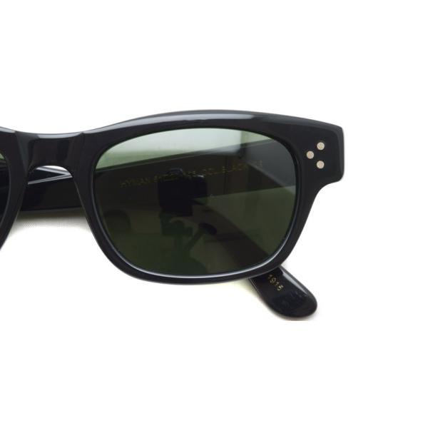 MOSCOT モスコット サングラス HYMAN-Sun ハイマン サン BLACK / G15 ブラック-ダークグリ−ンガラスレンズ|props-tokyo|04