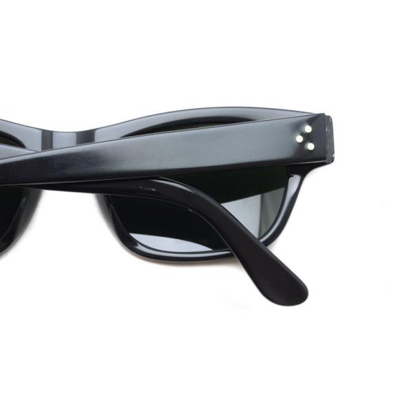 MOSCOT モスコット サングラス HYMAN-Sun ハイマン サン BLACK / G15 ブラック-ダークグリ−ンガラスレンズ|props-tokyo|05