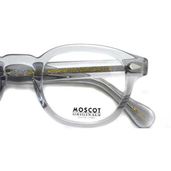 MOSCOT モスコット メガネ フレーム LEMTOSH レムトッシュ LIGHT GREY ライトグレー フレーム|props-tokyo|04