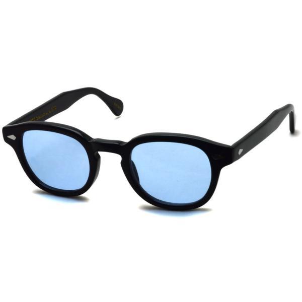 MOSCOT モスコット サングラス LEMTOSH-Sun レムトッシュサン BLACK-BLUE ブラック・ブルー PROPSオリジナルカラーレンズ 【送料無料】|props-tokyo