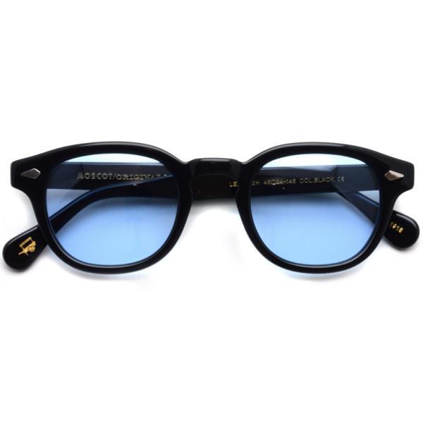 MOSCOT モスコット サングラス LEMTOSH-Sun レムトッシュサン BLACK-BLUE ブラック・ブルー PROPSオリジナルカラーレンズ 【送料無料】|props-tokyo|02