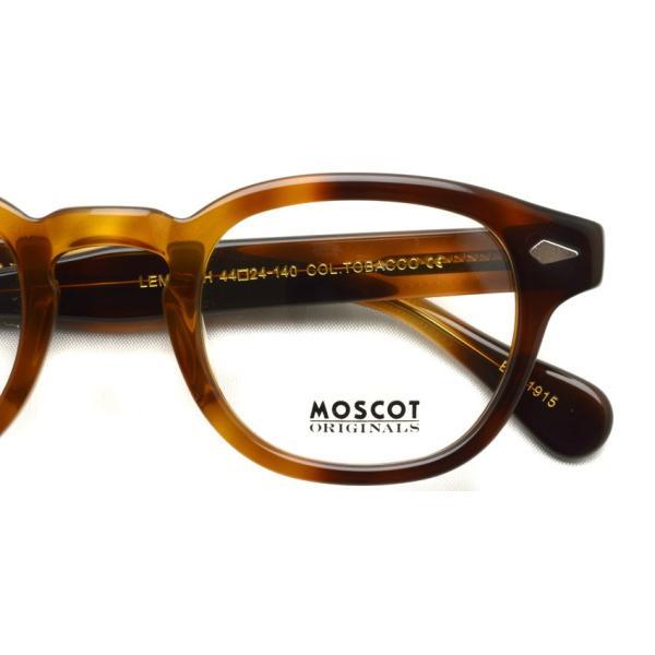 MOSCOT モスコット メガネ フレーム LEMTOSH レムトッシュ TOBACCO 【送料無料】|props-tokyo|04