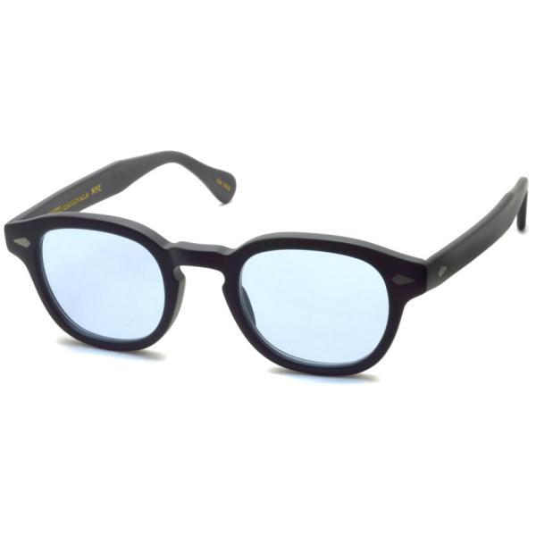 MOSCOT モスコット サングラス LEMTOSH-Sun レムトッシュサン MATTE BLACK-BLUE マットブラック・ブルー PROPSオリジナルカラーレンズ 【送料無料】|props-tokyo