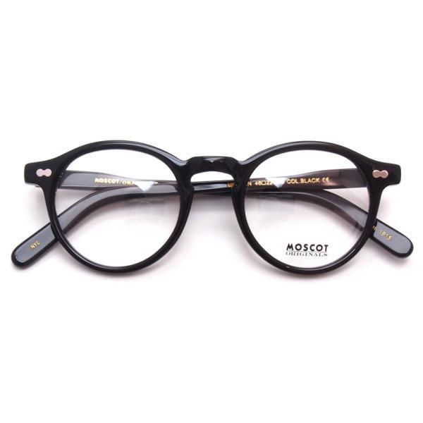 MOSCOT モスコット メガネ フレーム MILTZEN ミルゼン BLACK ブラック 【送料無料】|props-tokyo|02