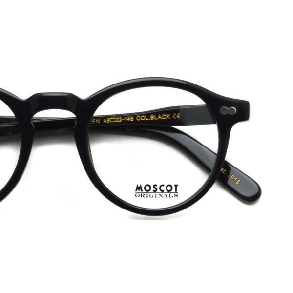 MOSCOT モスコット メガネ フレーム MILTZEN ミルゼン BLACK ブラック 【送料無料】|props-tokyo|04