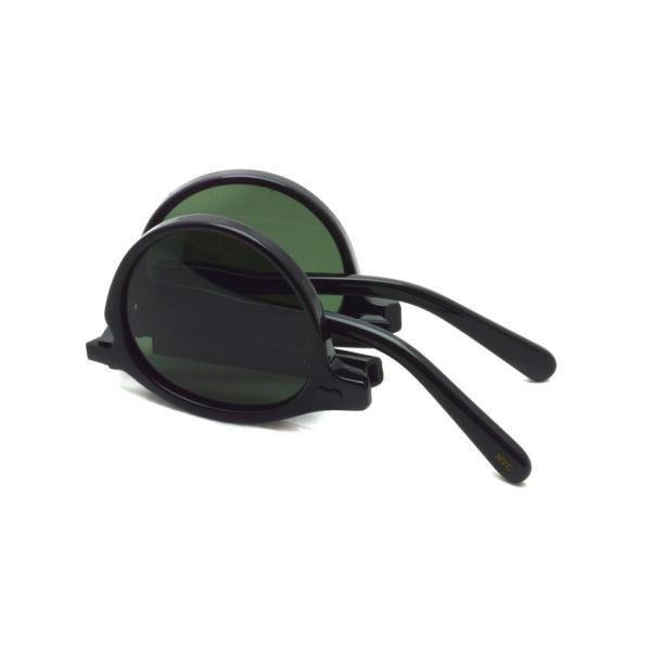 MOSCOT x wings + horns  MILTZEN FOLD  BLACK - G15 コラボレーションモデル 折り畳みサングラス|props-tokyo