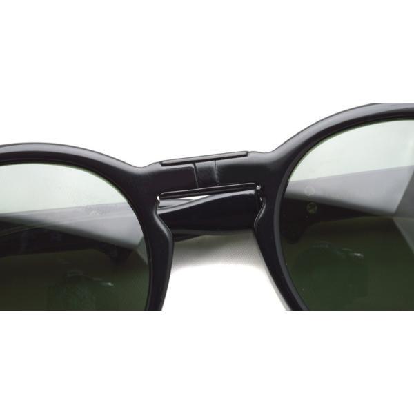 MOSCOT x wings + horns  MILTZEN FOLD  BLACK - G15 コラボレーションモデル 折り畳みサングラス|props-tokyo|06
