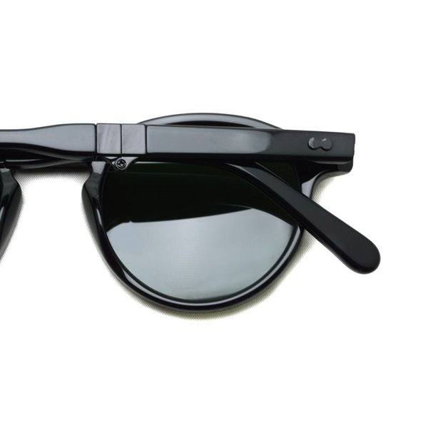 MOSCOT x wings + horns  MILTZEN FOLD  BLACK - G15 コラボレーションモデル 折り畳みサングラス|props-tokyo|07