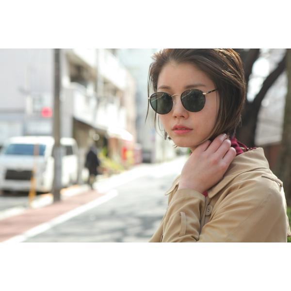 MOSCOT モスコット サングラス ZEV-Sun ゼブサン Blonde / Gold-G15 ライトトータス/ゴールド ボストンメタルサングラス|props-tokyo|09